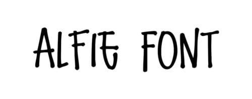 Alfie Font